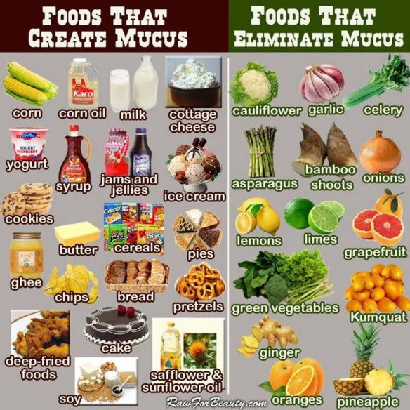 MEDICAL CORNER … Mucus Production | It Is What It Is