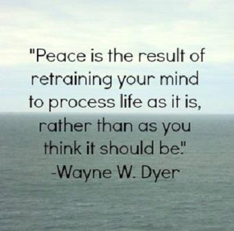 To have PEACE ......