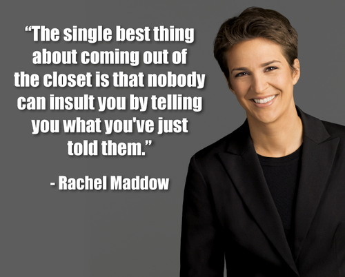 Rachel Maddow Girlfriend Break
