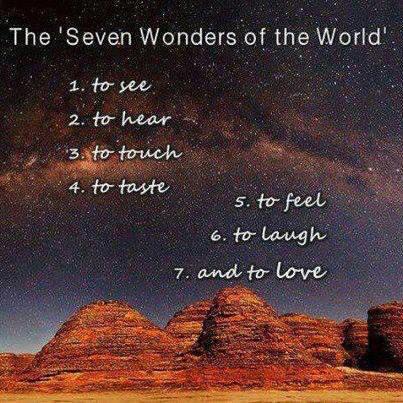 Seven Wonders .....