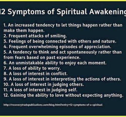 Signs of Spiritual Awakening .....