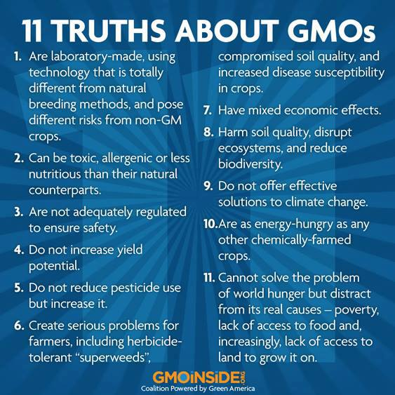 Eleven truths about GMOs .....