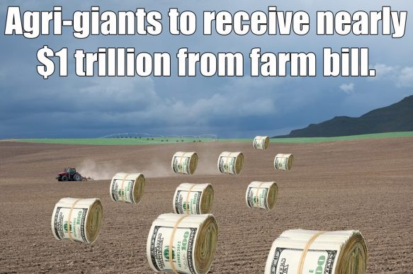 Agri-giants to get nearly $1 trillion ... what about the small farmers?