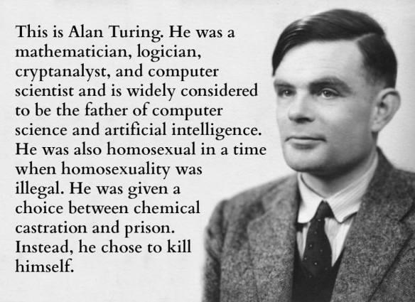 Alan Turing ....
