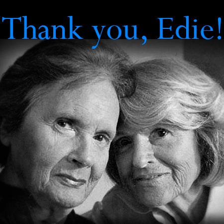 Edie Windsor and Thea Spyer  ......