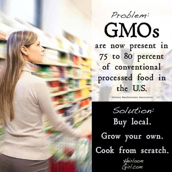 Problem ....... GMOs