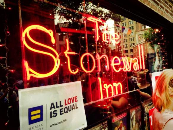 As a recap of yesterday .... the 44th anniversary of the Stonewall Inn riots!