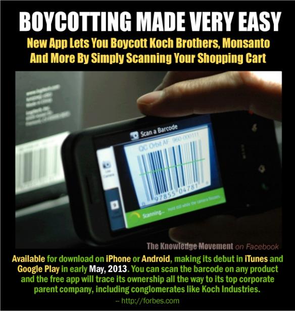 Boycott made easy ..... too good to be true??