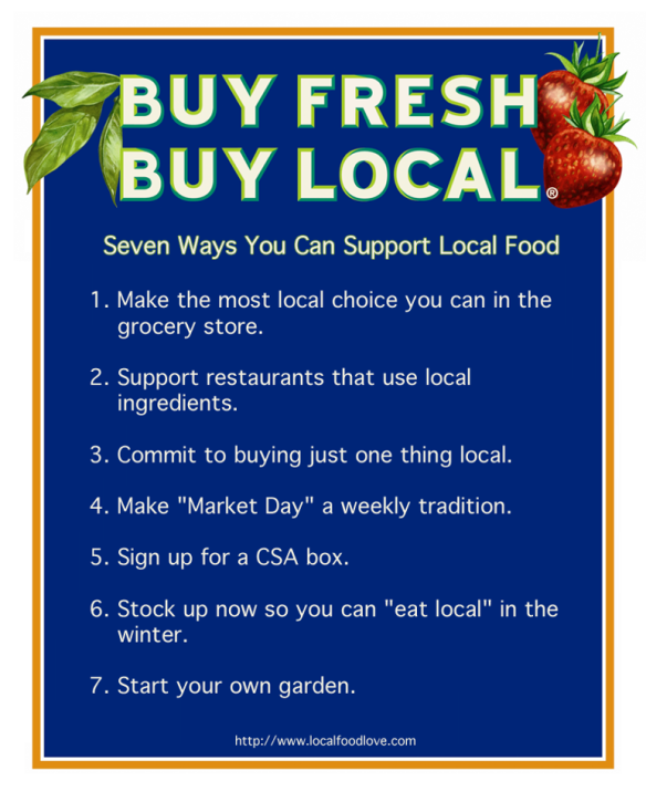 Buy Local: Dr Rex Equality Environment Buy Fresh Produce Buy Local