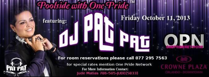 Who is DJ Pat Pat .... Patty Amandis!
