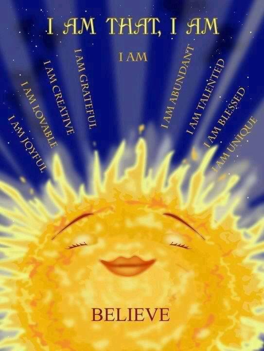 I am that .... I am!!!