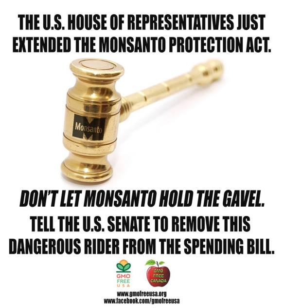 MONSANTO Protection Act .... not again!!!