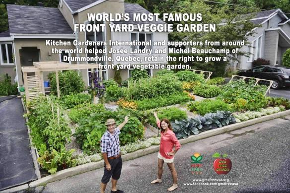 Vegetable garden design ideas with beautiful vegetable garden design - World S Most Famous Front Yard Vegetable Garden It Is