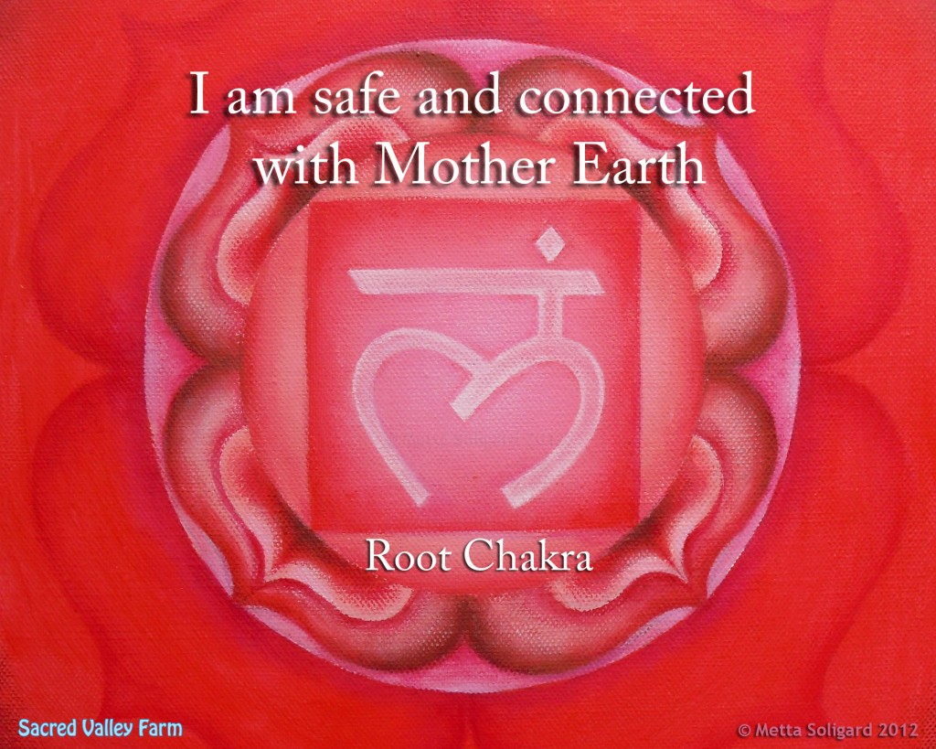 The Root Chakra …. Meditation And Music!