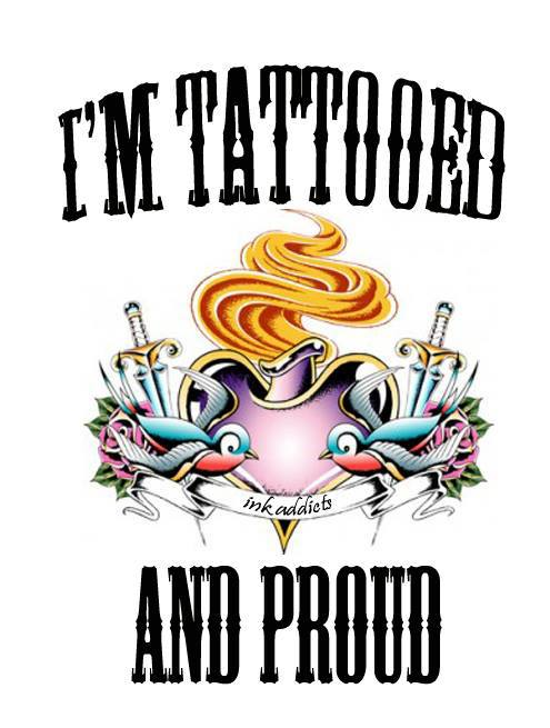 Proud of my ink!!