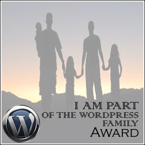 I AM PART OF THE WORD PRESS FAMILY ....