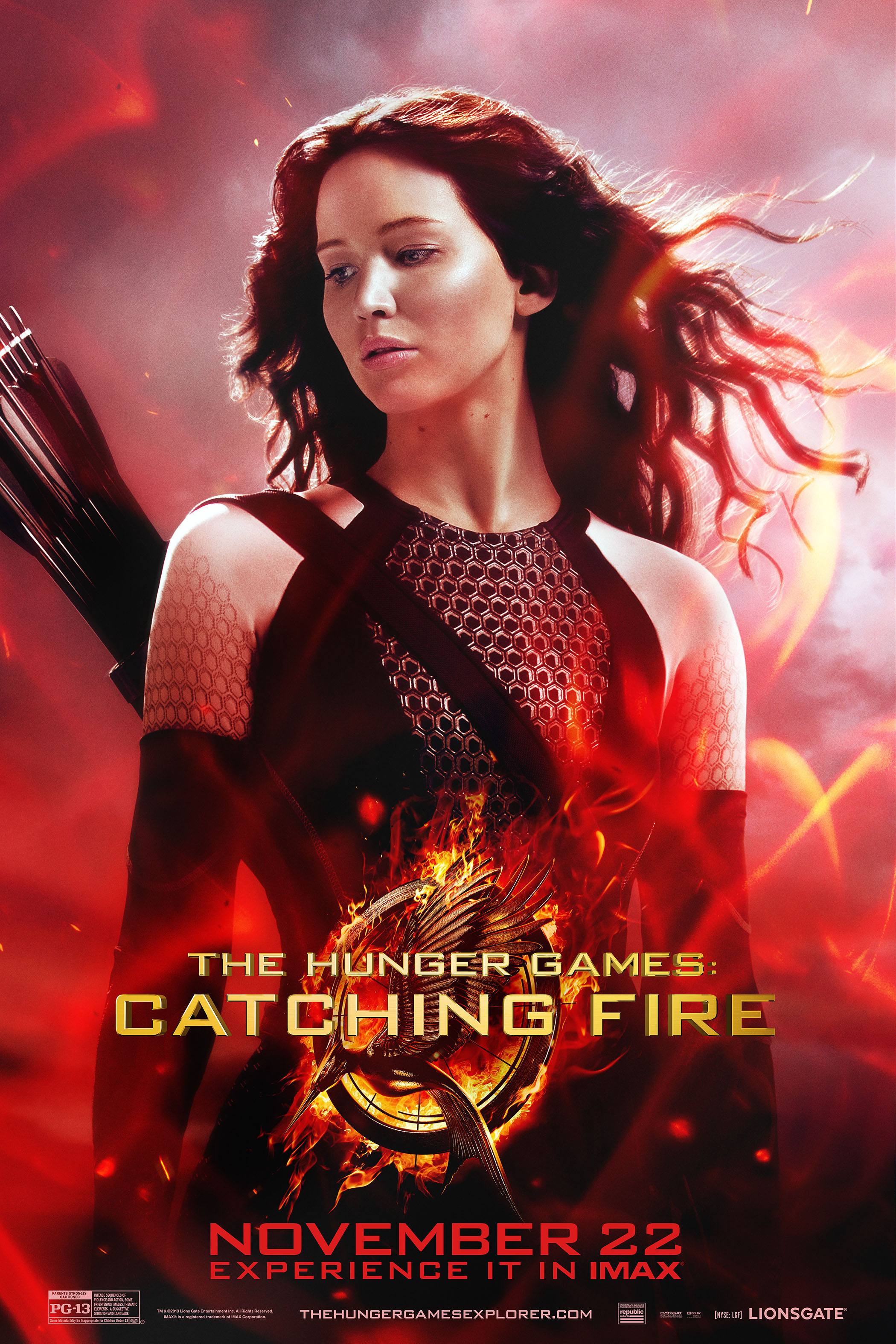 """The Hunger Games"" ….. ""Catching Fire""! 