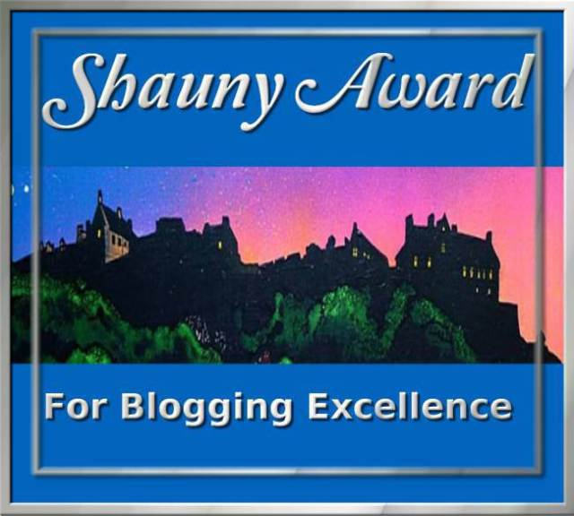 "The Shaun'y Award"" ….. for Blogging Excellence"