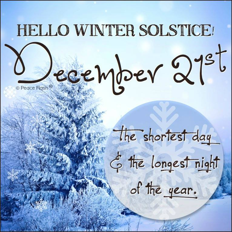 Winter's Solstice …. December 21, 2013! | It Is What It Is