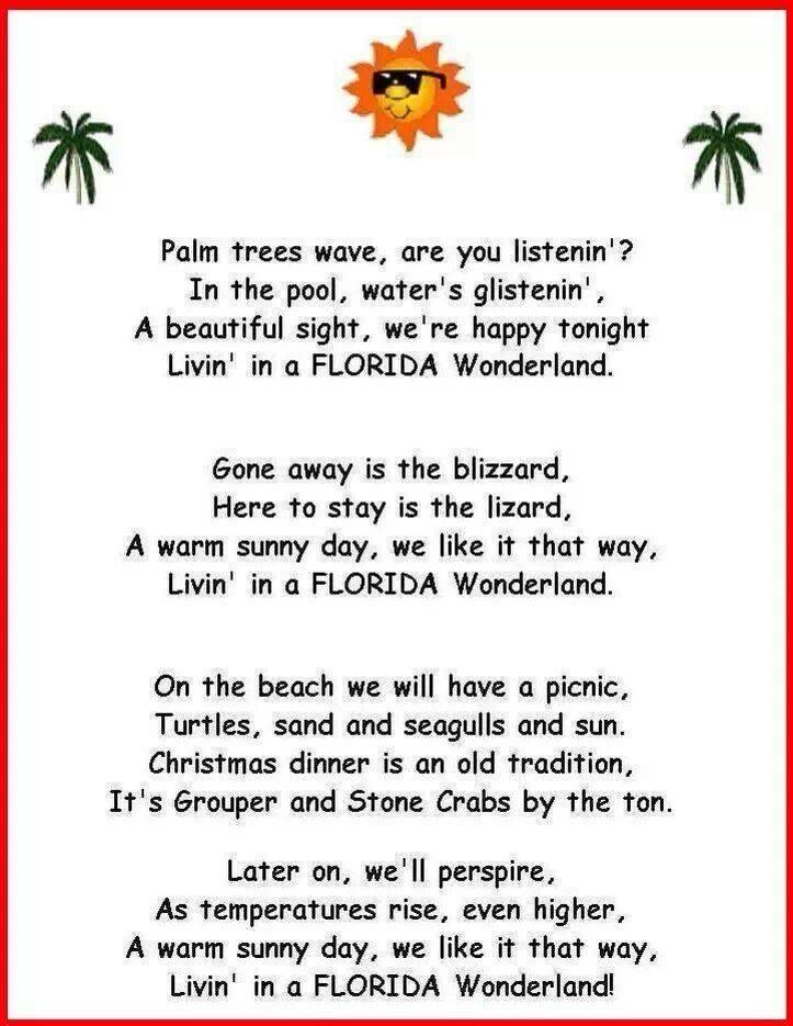 Florida Beach Poems