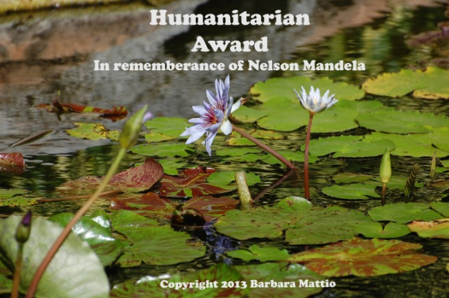Humanitarian Award, in remembrance of Nelson Mandela