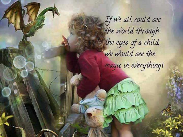 Through The Eyes Of A Child Quote