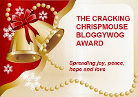 Cracking Chrispmouse Bloggywod Award