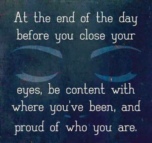 At the end of the day ….