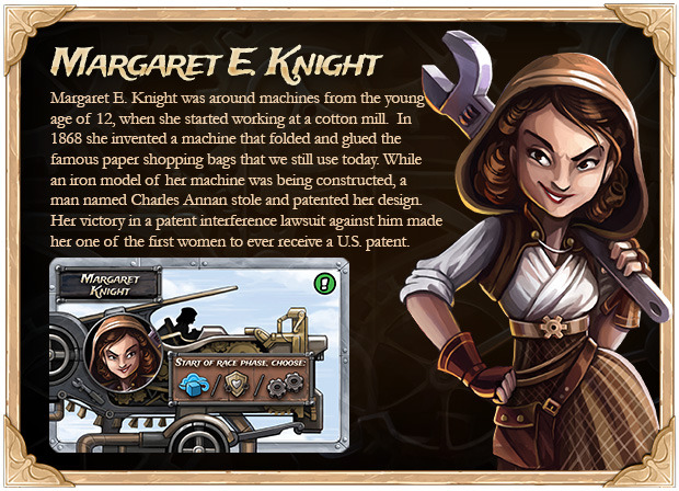Margaret E. Knight ….. American Inventor! | It Is What It Is