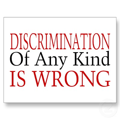 descrimination should be stopped Discrimination discrimination is when people treat others badly because they are different from them oppression refers to discrimination on a larger or systemic level this is if you are against one type of discrimination, then it makes sense to be against them all all students what can i do to stop discrimination.