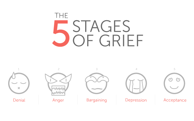 Essay writing 5 steps of grief