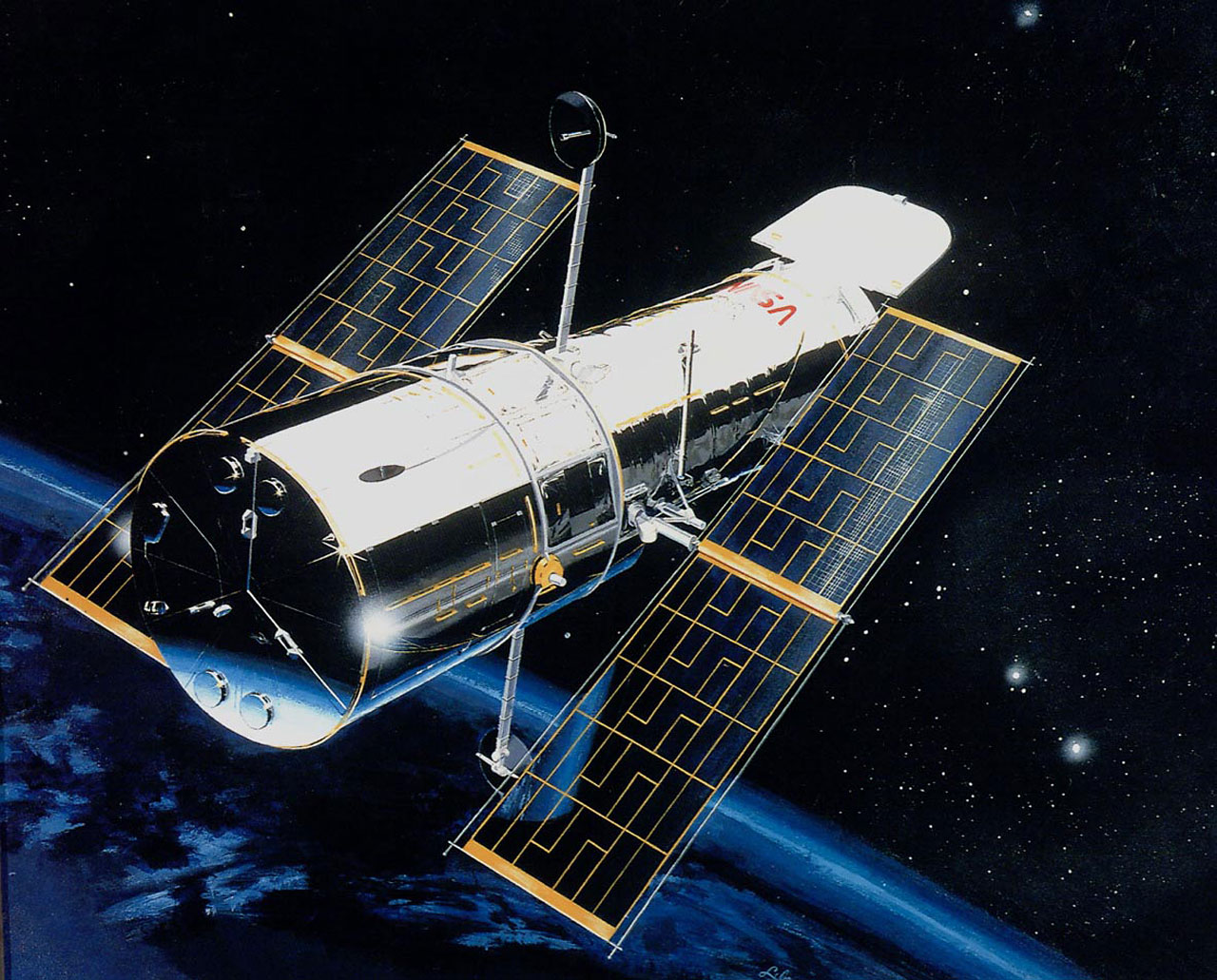 Hubble Telescope …. Launched 24 years ago in April 2014 ...