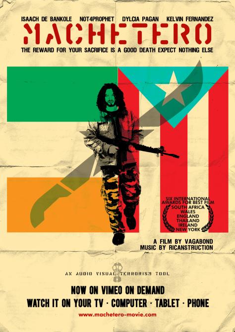 Machetero Poster Ireland/Puerto Rico Remix by vagabond ©