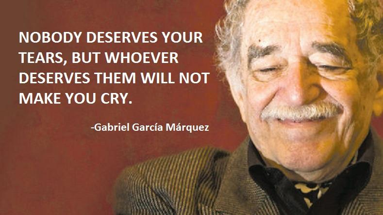 Gabriel Garcia Marquez El Gabo may he rest in eternal