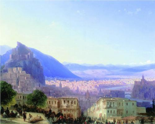 View of Tiflis by Ivan Aivazovsky
