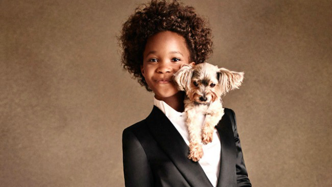 Quvenzhane Wallis (Photo courtesy of Armani Junior)