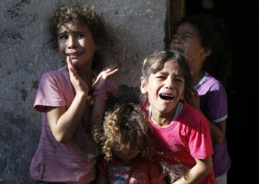 Their cousins were the four young boys killed on a beach in Gaza while playing soccer.