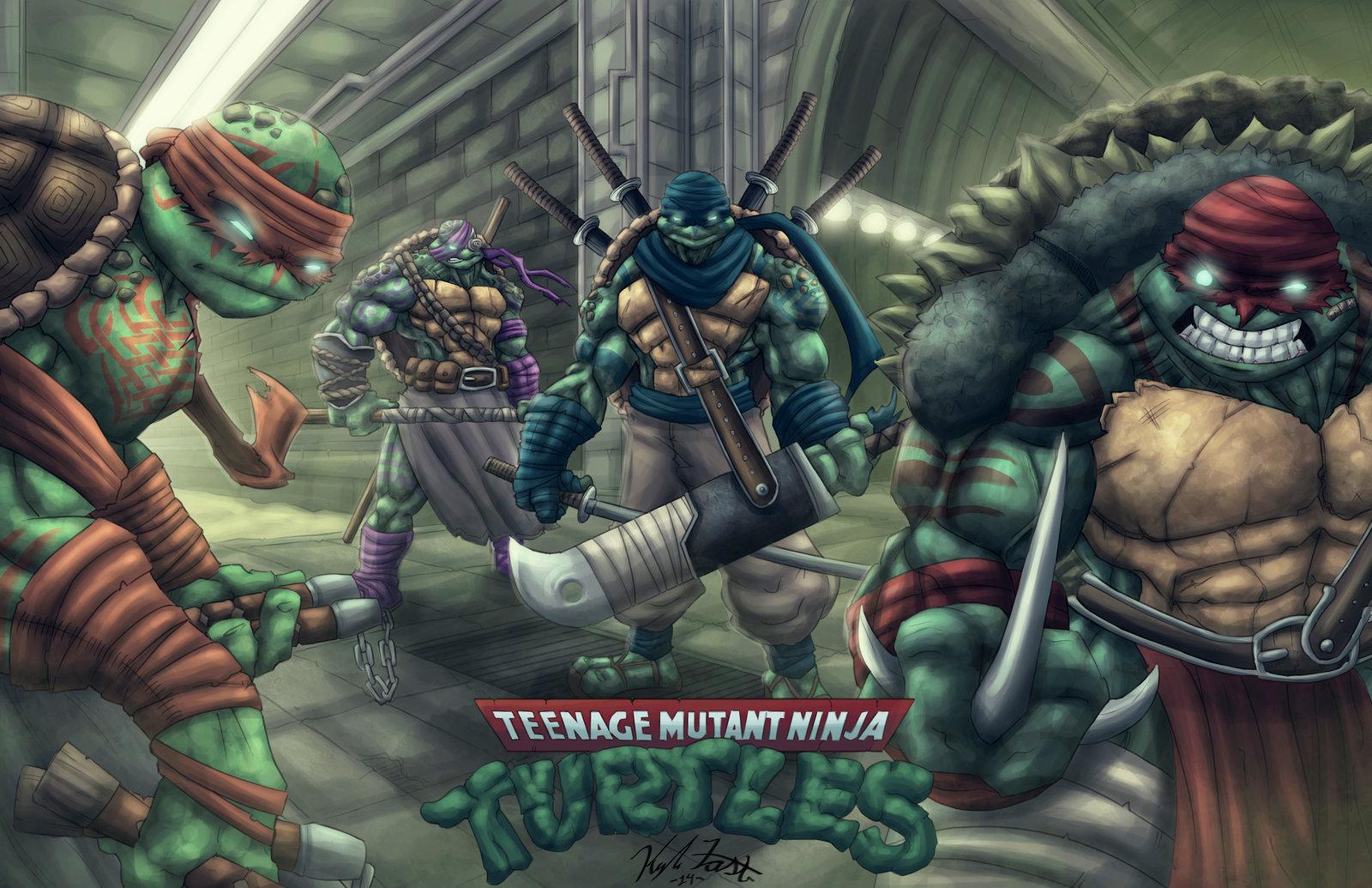 �teenage mutant ninja turtles� tmnt � a very nice