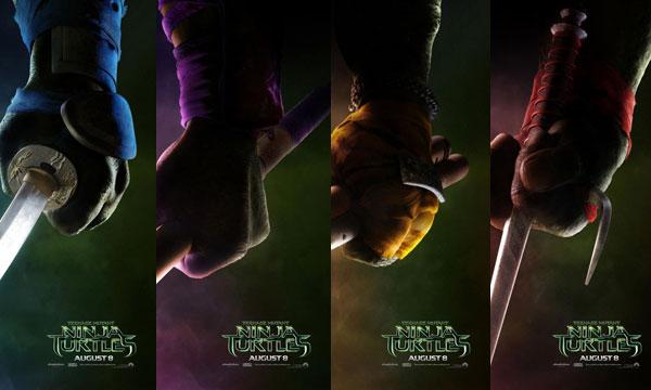 Poster Tortugas Ninja