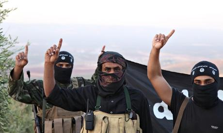 Isis Meaning Of Their Flag And Hand Gesture It Is What It Is