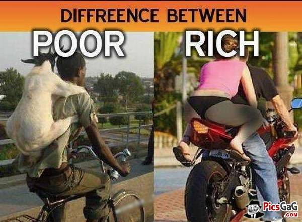 rich life poor life An estimated 20 percent of the population, if not more, lives in crippling poverty.