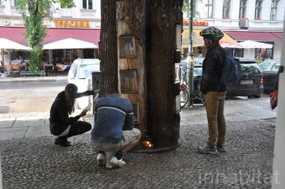 The Berlin Book Forest