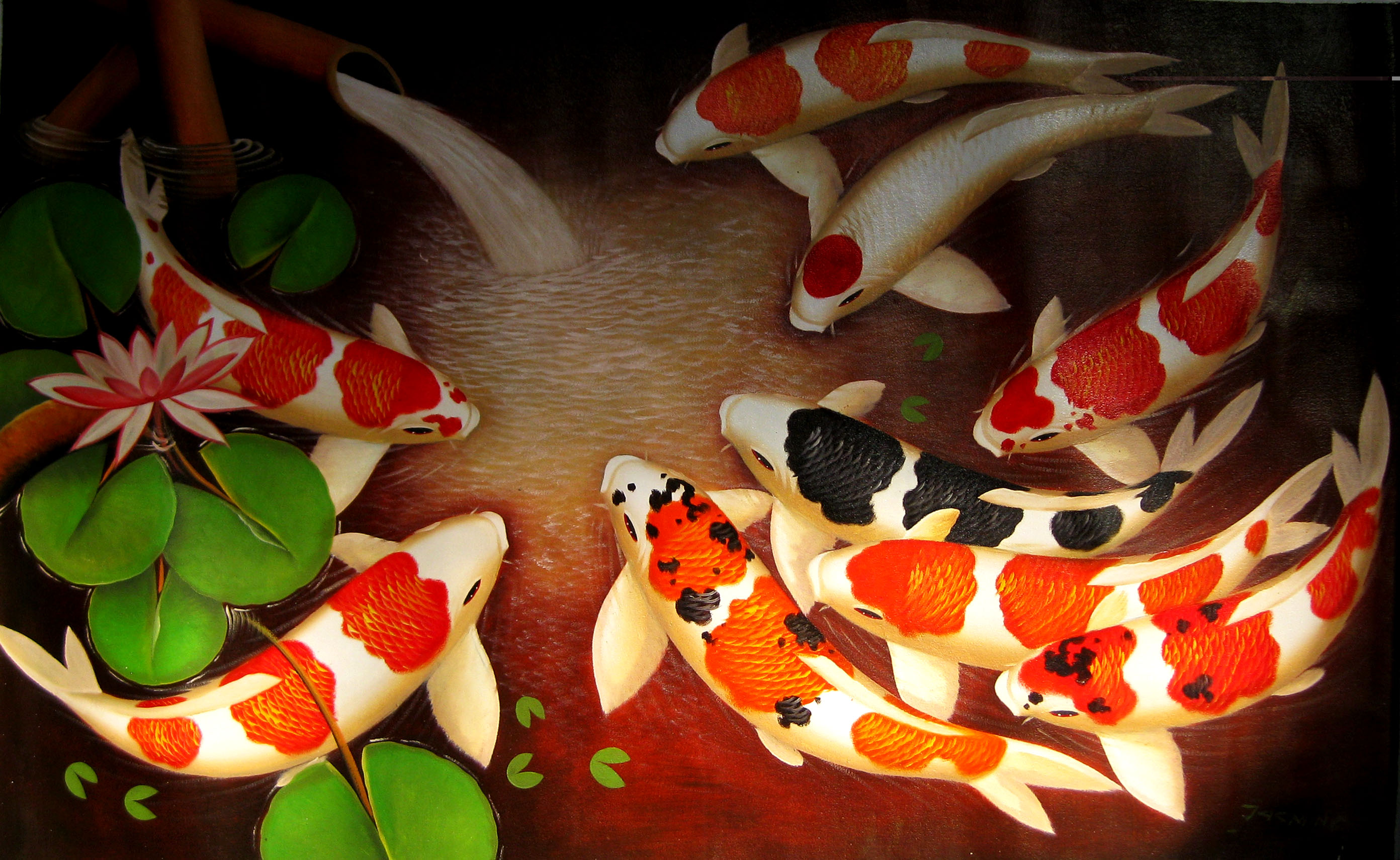 At the end of the day meaning of the koi fish it is what it is for Chinese coy fish