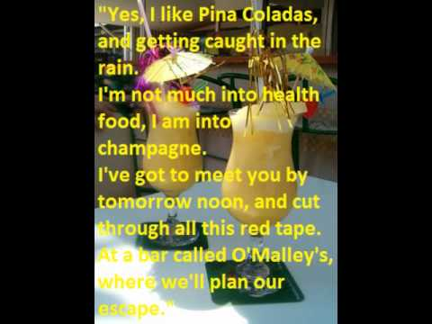 escape pina colada lyrics