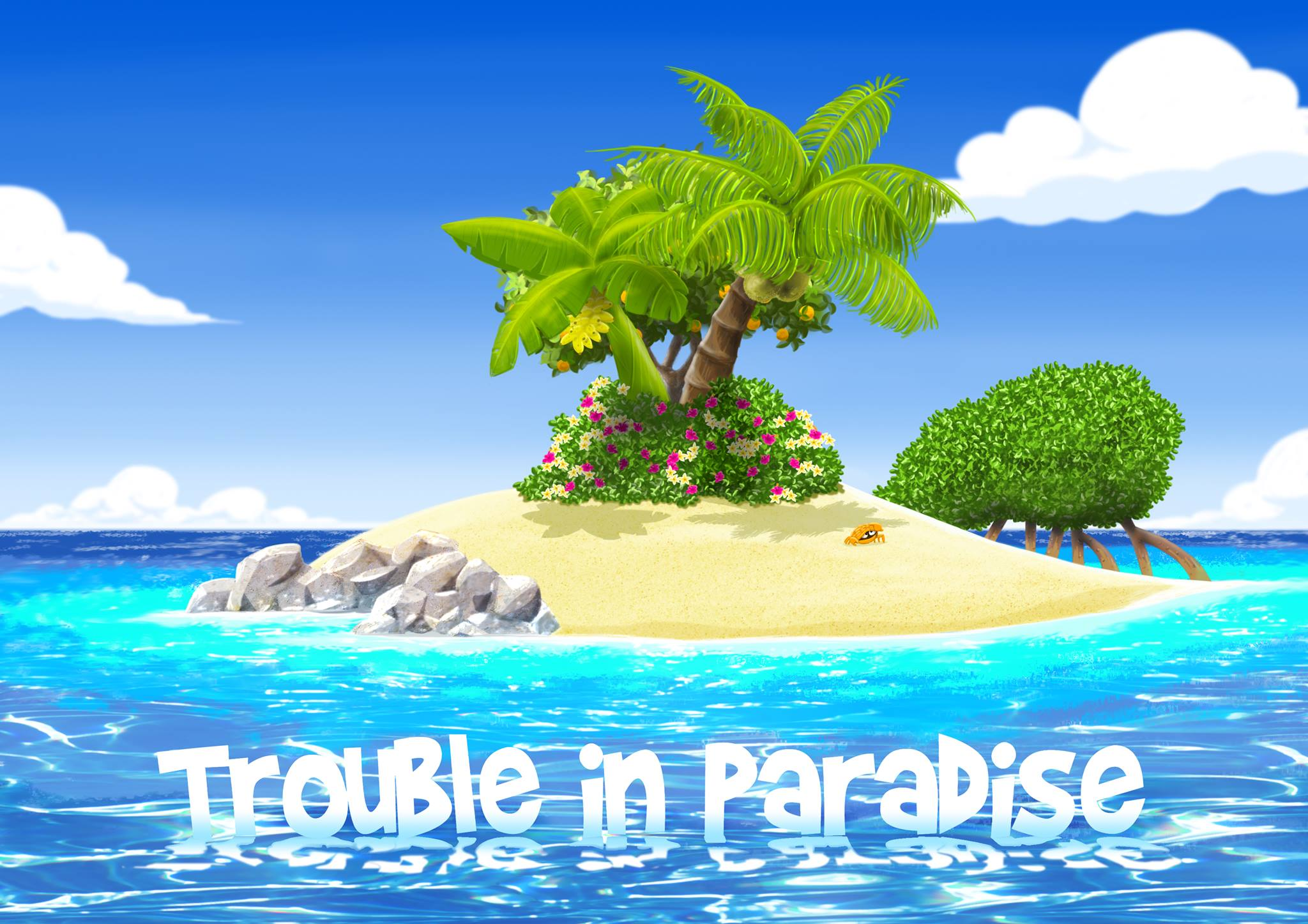 trouble in paradise Says there was no trouble in paradise till a female came there, and that  with  words, would permitted to make perpetual trouble in paradise.