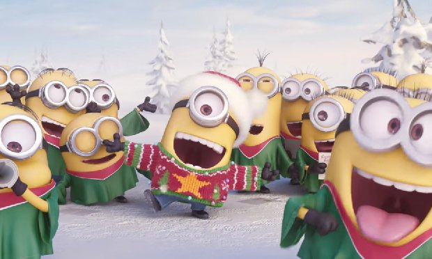 Minions Sing Jingle Bells This Is A Most Amazing Christmas Song