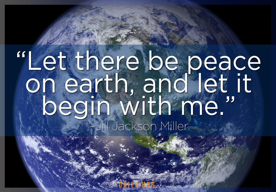 Let There Be Peace On Earth Hymn To start the da...