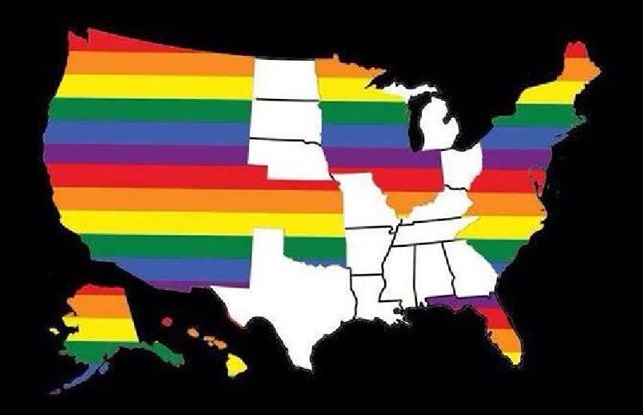 Status of marriage equality in the USA as of early 2015 It Is