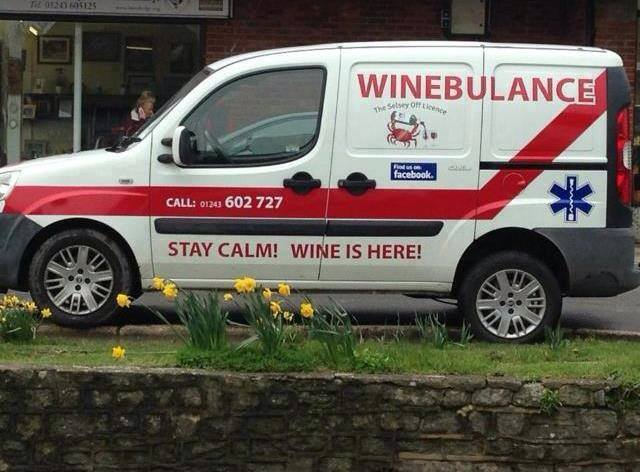 """Firefly Sydney on Twitter: """"ambulance wine delivery - what a great ..."""