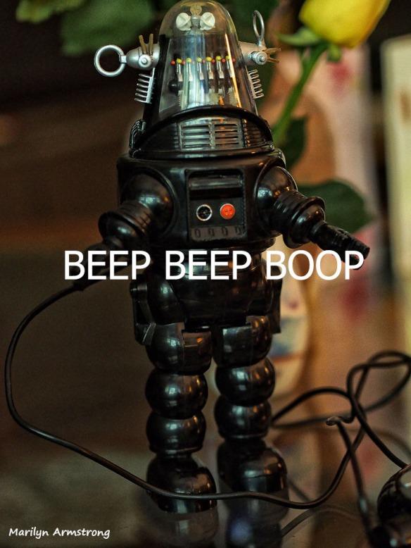 ROBBIE BEEP BEEP BOOP